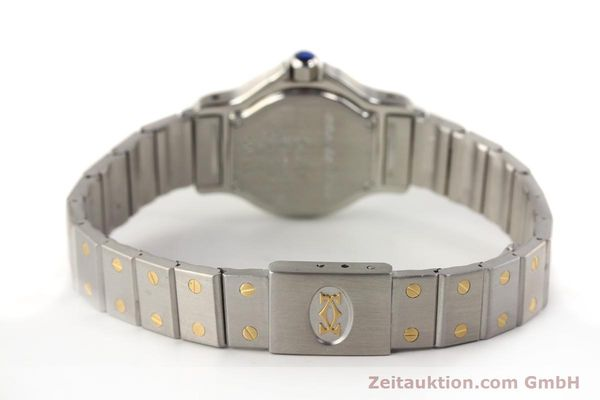 Used luxury watch Cartier Santos steel / gold quartz  | 141119 10