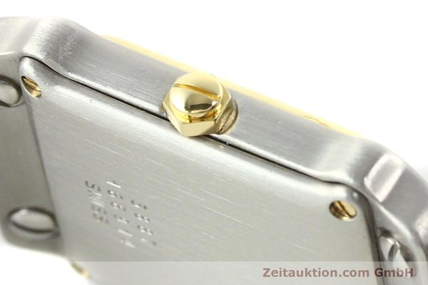 Used luxury watch Ebel Classic Wave steel / gold quartz Ref. 166914  | 141120 10