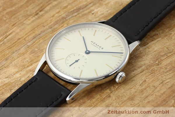 Used luxury watch Nomos Orion steel manual winding Kal. ETA 7001  | 141121 01