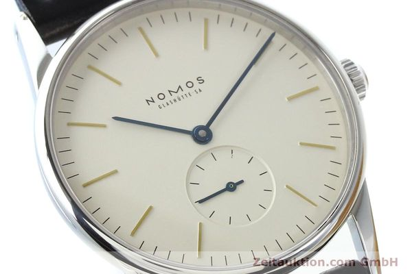 Used luxury watch Nomos Orion steel manual winding Kal. ETA 7001  | 141121 02