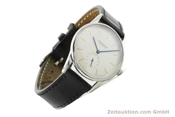 Used luxury watch Nomos Orion steel manual winding Kal. ETA 7001  | 141121 03