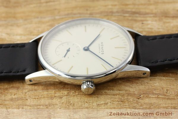 Used luxury watch Nomos Orion steel manual winding Kal. ETA 7001  | 141121 05