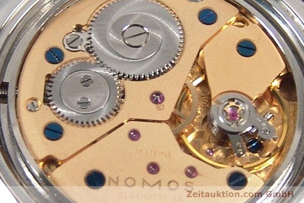 Used luxury watch Nomos Orion steel manual winding Kal. ETA 7001  | 141121 10
