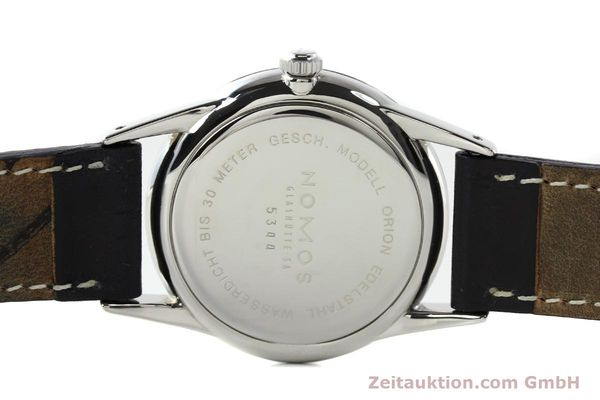 Used luxury watch Nomos Orion steel manual winding Kal. ETA 7001  | 141121 13