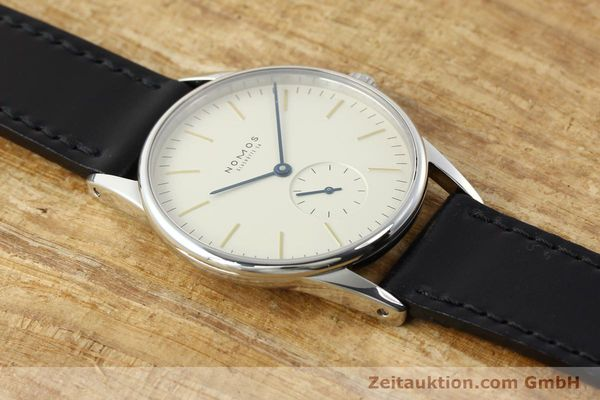 Used luxury watch Nomos Orion steel manual winding Kal. ETA 7001  | 141121 16