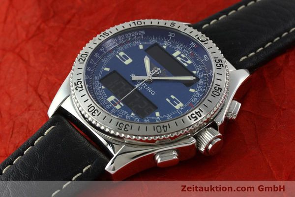 Used luxury watch Breitling B1 chronograph steel quartz Ref. A68362  | 141125 01