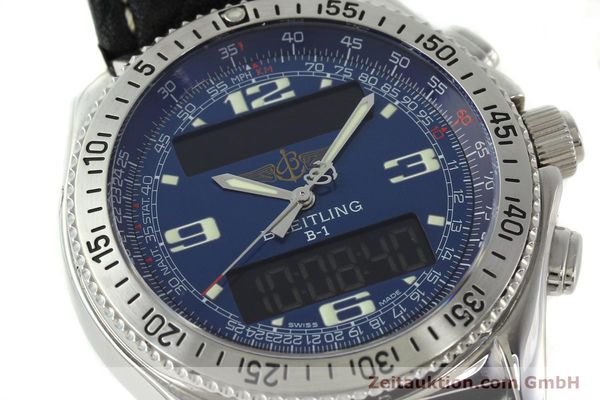 Used luxury watch Breitling B1 chronograph steel quartz Ref. A68362  | 141125 02