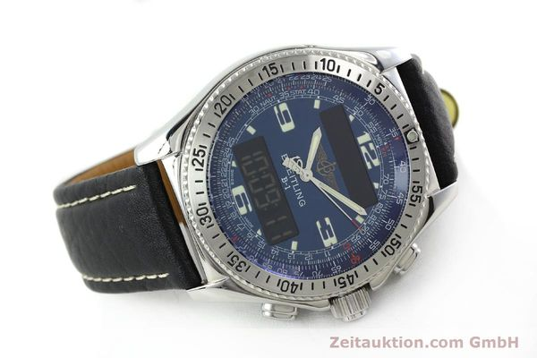 Used luxury watch Breitling B1 chronograph steel quartz Ref. A68362  | 141125 03