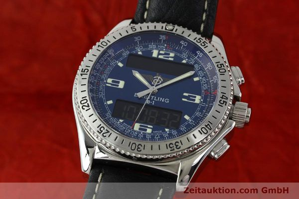 Used luxury watch Breitling B1 chronograph steel quartz Ref. A68362  | 141125 04