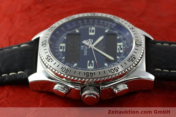 Used luxury watch Breitling B1 chronograph steel quartz Ref. A68362  | 141125 05