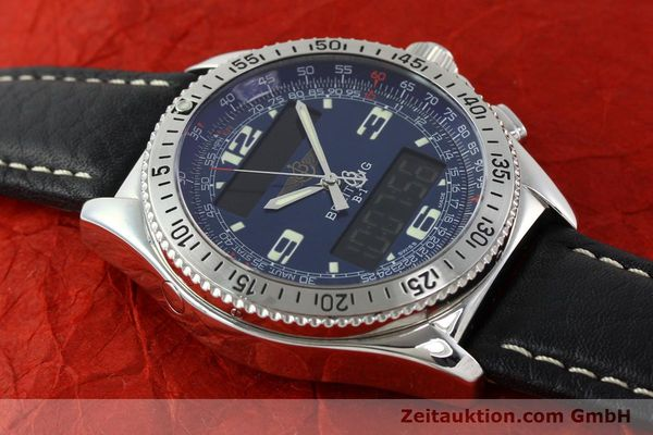 Used luxury watch Breitling B1 chronograph steel quartz Ref. A68362  | 141125 11