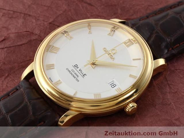Used luxury watch Omega De Ville 18 ct gold automatic Kal. 2500 Ref. 46173102  | 141126 01