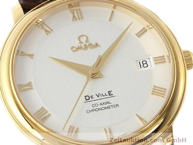 Used luxury watch Omega De Ville 18 ct gold automatic Kal. 2500 Ref. 46173102  | 141126 02