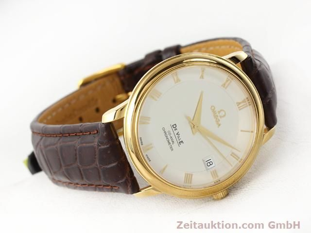Used luxury watch Omega De Ville 18 ct gold automatic Kal. 2500 Ref. 46173102  | 141126 03