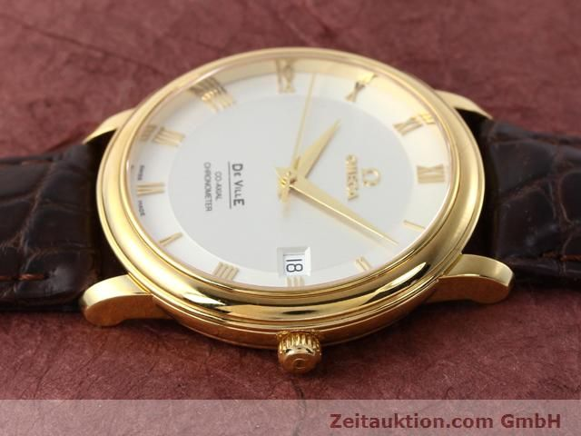 Used luxury watch Omega De Ville 18 ct gold automatic Kal. 2500 Ref. 46173102  | 141126 05