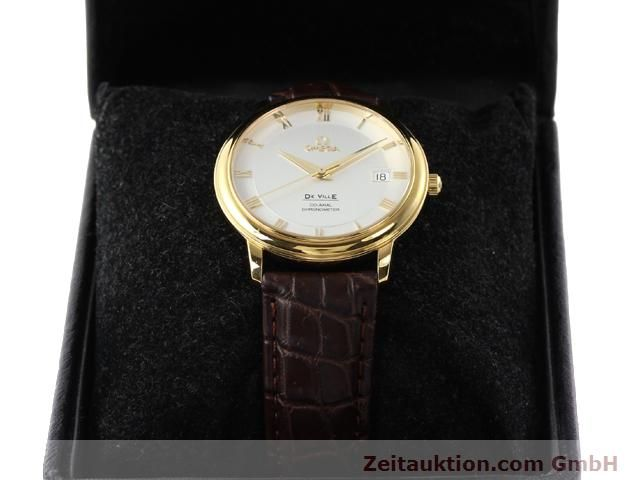 Used luxury watch Omega De Ville 18 ct gold automatic Kal. 2500 Ref. 46173102  | 141126 07
