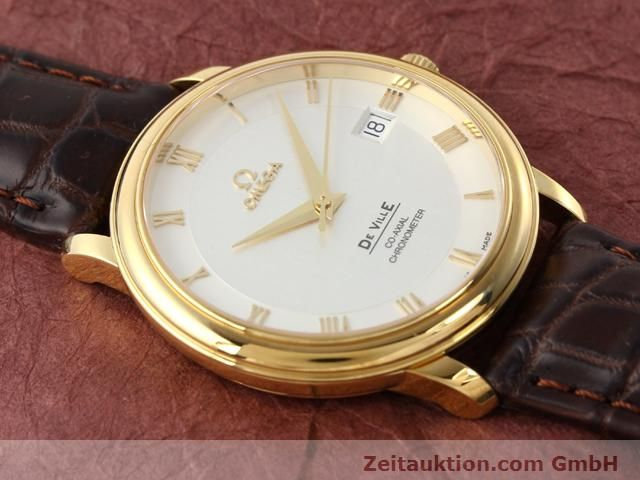 Used luxury watch Omega De Ville 18 ct gold automatic Kal. 2500 Ref. 46173102  | 141126 14