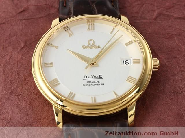 Used luxury watch Omega De Ville 18 ct gold automatic Kal. 2500 Ref. 46173102  | 141126 15