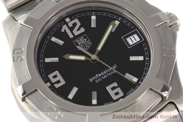 Used luxury watch Tag Heuer Professional steel quartz Ref. WN1110  | 141130 02