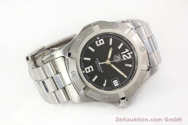 Used luxury watch Tag Heuer Professional steel quartz Ref. WN1110  | 141130 03