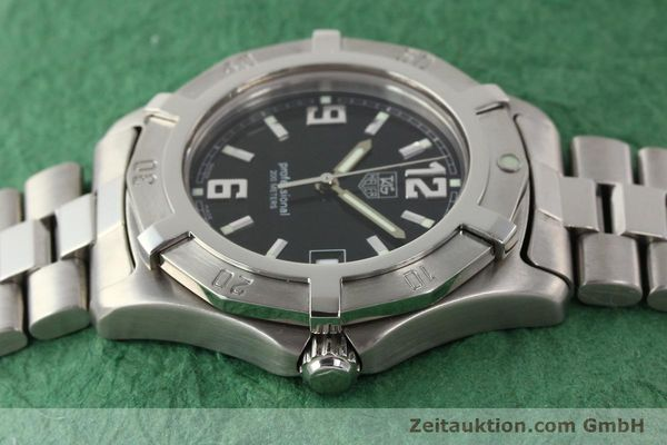 Used luxury watch Tag Heuer Professional steel quartz Ref. WN1110  | 141130 05