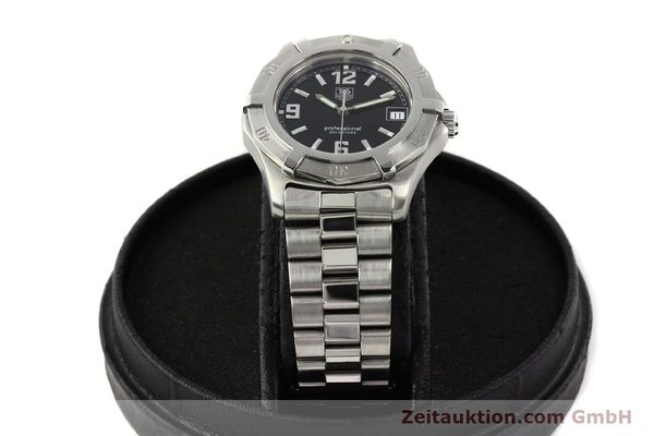 Used luxury watch Tag Heuer Professional steel quartz Ref. WN1110  | 141130 07