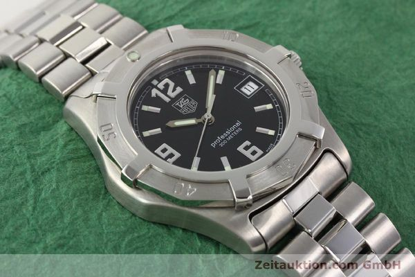 Used luxury watch Tag Heuer Professional steel quartz Ref. WN1110  | 141130 14