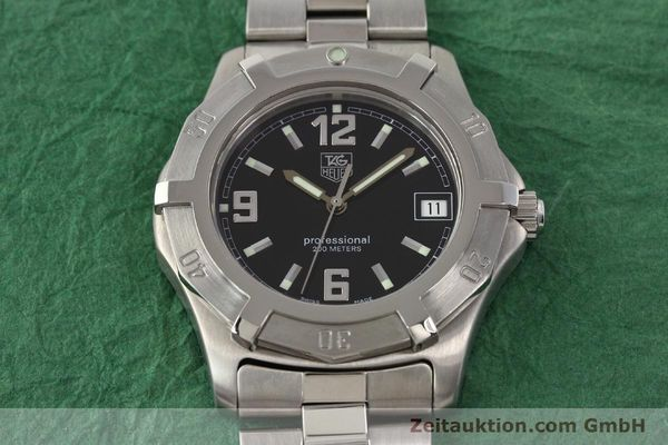 Used luxury watch Tag Heuer Professional steel quartz Ref. WN1110  | 141130 15