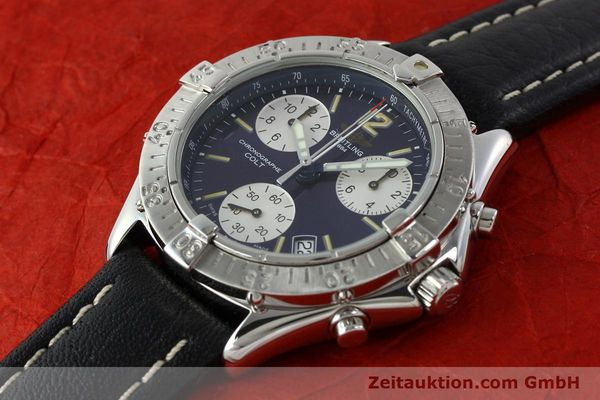 Used luxury watch Breitling Colt steel quartz Kal. ETA 251262 Ref. A53035  | 141133 01