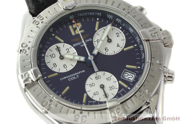 Used luxury watch Breitling Colt steel quartz Kal. ETA 251262 Ref. A53035  | 141133 02