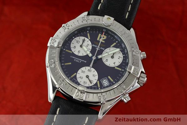 Used luxury watch Breitling Colt steel quartz Kal. ETA 251262 Ref. A53035  | 141133 04