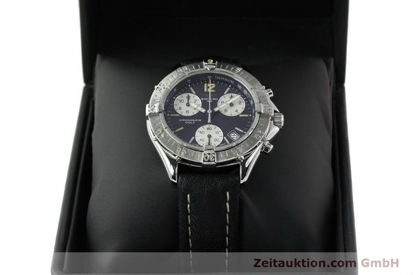 Used luxury watch Breitling Colt steel quartz Kal. ETA 251262 Ref. A53035  | 141133 07