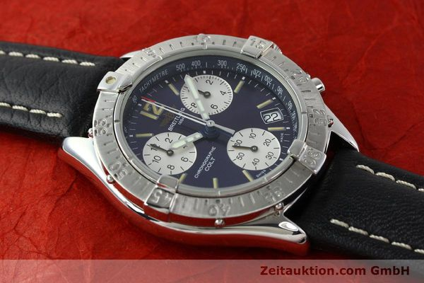Used luxury watch Breitling Colt steel quartz Kal. ETA 251262 Ref. A53035  | 141133 11