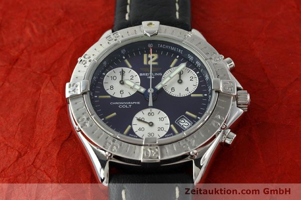 Used luxury watch Breitling Colt steel quartz Kal. ETA 251262 Ref. A53035  | 141133 12