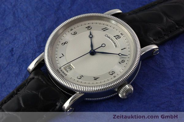 Used luxury watch Chronoswiss Kairos steel automatic Kal. ETA 2892A2 Ref. CH 2823 M  | 141134 01