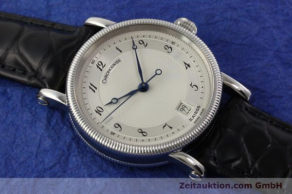 Used luxury watch Chronoswiss Kairos steel automatic Kal. ETA 2892A2 Ref. CH 2823 M  | 141134 14