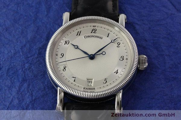Used luxury watch Chronoswiss Kairos steel automatic Kal. ETA 2892A2 Ref. CH 2823 M  | 141134 15