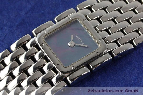 Used luxury watch Cartier Panthere steel quartz  | 141135 01
