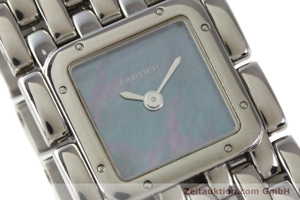 Used luxury watch Cartier Panthere steel quartz  | 141135 02