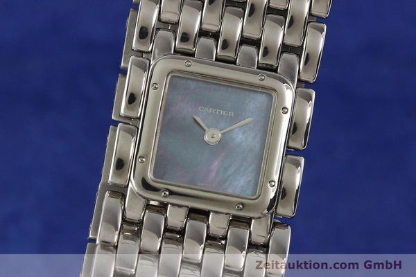 Used luxury watch Cartier Panthere steel quartz  | 141135 04