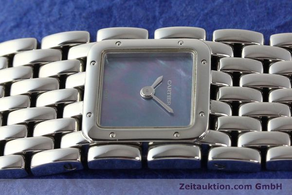 Used luxury watch Cartier Panthere steel quartz  | 141135 05