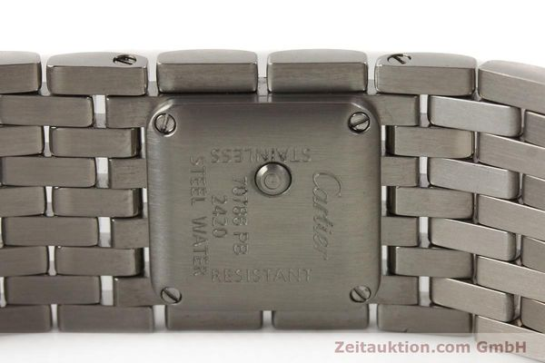 Used luxury watch Cartier Panthere steel quartz  | 141135 08