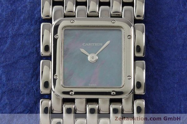 Used luxury watch Cartier Panthere steel quartz  | 141135 12