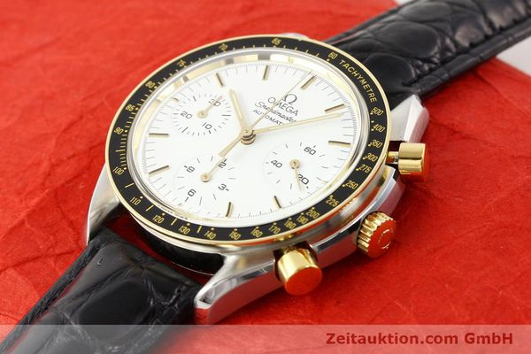 Used luxury watch Omega Speedmaster steel / gold automatic Kal. 1140 ETA 2890-2  | 141136 01