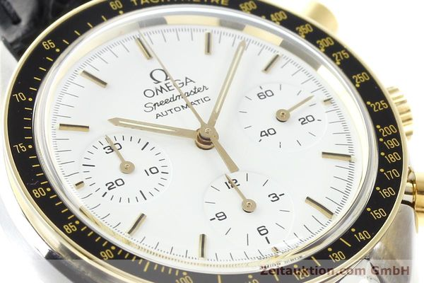 Used luxury watch Omega Speedmaster steel / gold automatic Kal. 1140 ETA 2890-2  | 141136 02