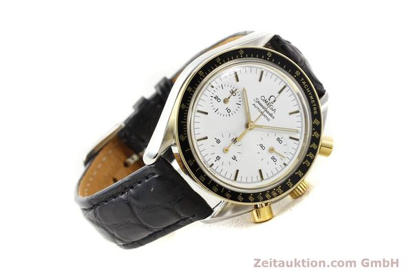 Used luxury watch Omega Speedmaster steel / gold automatic Kal. 1140 ETA 2890-2  | 141136 03