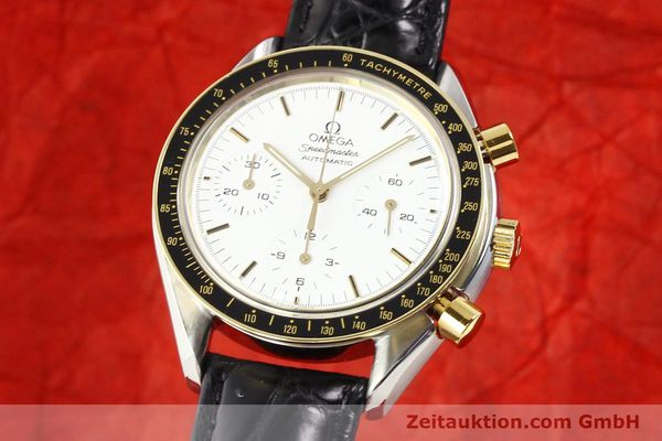 Used luxury watch Omega Speedmaster steel / gold automatic Kal. 1140 ETA 2890-2  | 141136 04