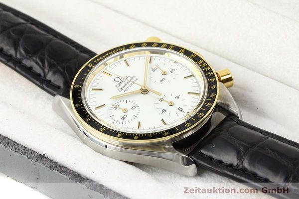 Used luxury watch Omega Speedmaster steel / gold automatic Kal. 1140 ETA 2890-2  | 141136 07