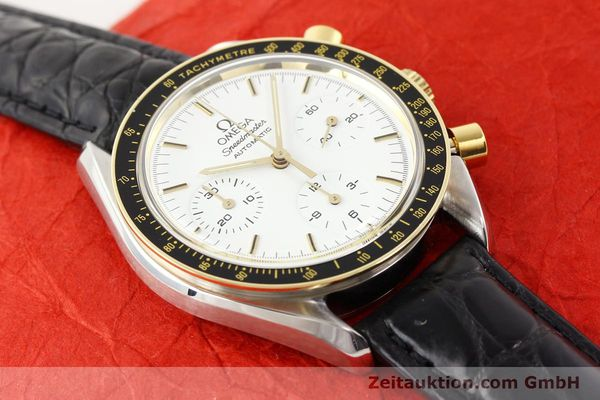 Used luxury watch Omega Speedmaster steel / gold automatic Kal. 1140 ETA 2890-2  | 141136 14