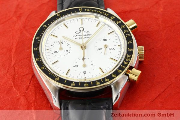Used luxury watch Omega Speedmaster steel / gold automatic Kal. 1140 ETA 2890-2  | 141136 15